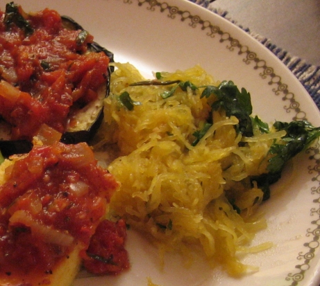81. Spaghetti Squash with Moroccan Spices p.581