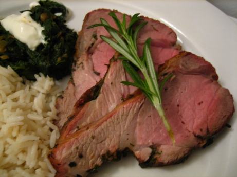 leg of lamb with garlic and lemon recipe yummly roasted leg of lamb ...