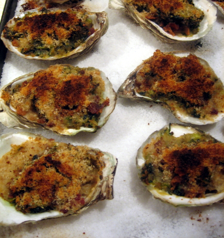 Gourmet oyster recipes