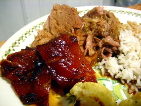 Shoulder pork roast and recipes