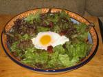 118. Frisée Salad with Lardons and Poached Eggs p.139