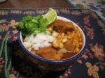 129. Posole: Pork and Hominy Stew p.486