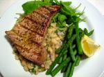 163. Grilled Tuna with Warm White Bean Salad p.299