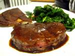 195. Pan-Seared Filet Mignon with Merlot Sauce p.428