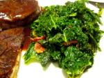 196. Sautéed Kale with Bacon and Vinegar p.541
