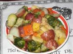 50. Winter Vegetables With Horseradish Dill Butter p.526